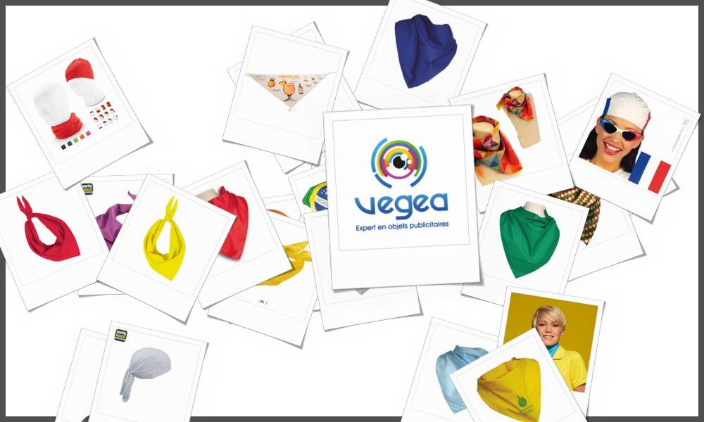 Bandanas personnalisables à votre effigie avec un logo, un texte ou une image | Grossiste et fabrication d'objets publicitaires et cadeaux d'entreprise