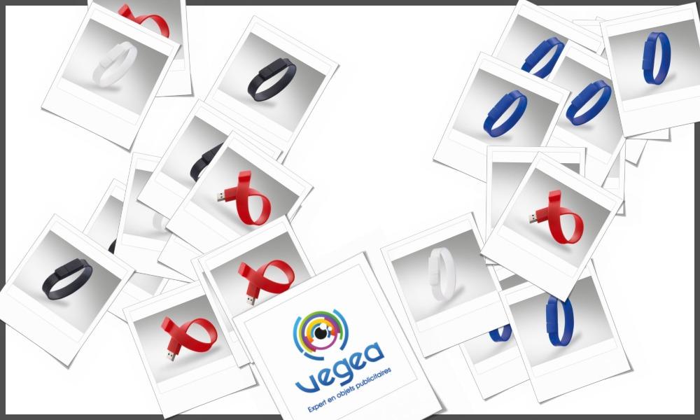 Bracelets clés usb personnalisables à votre effigie avec un logo, un texte ou une image | Grossiste et fabrication d'objets publicitaires et cadeaux d'entreprise