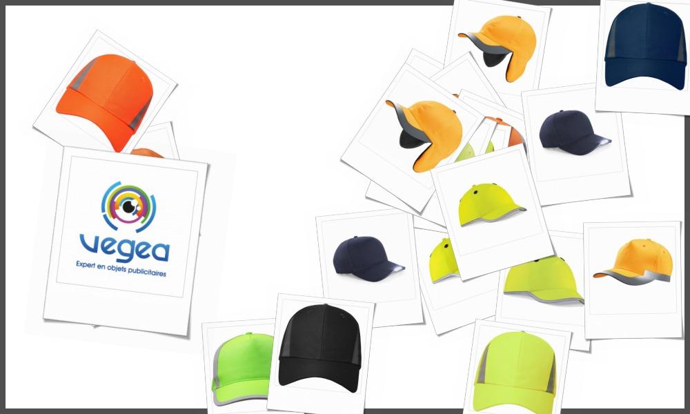 Casquettes de travail personnalisables à votre effigie avec un logo, un texte ou une image | Grossiste et fabrication d'objets publicitaires et cadeaux d'entreprise