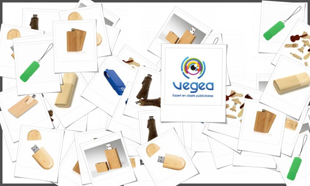 Clés usb écologiques ou recyclées personnalisables à votre effigie avec un logo, un texte ou une image | Grossiste et fabrication d'objets publicitaires et cadeaux d'entreprise