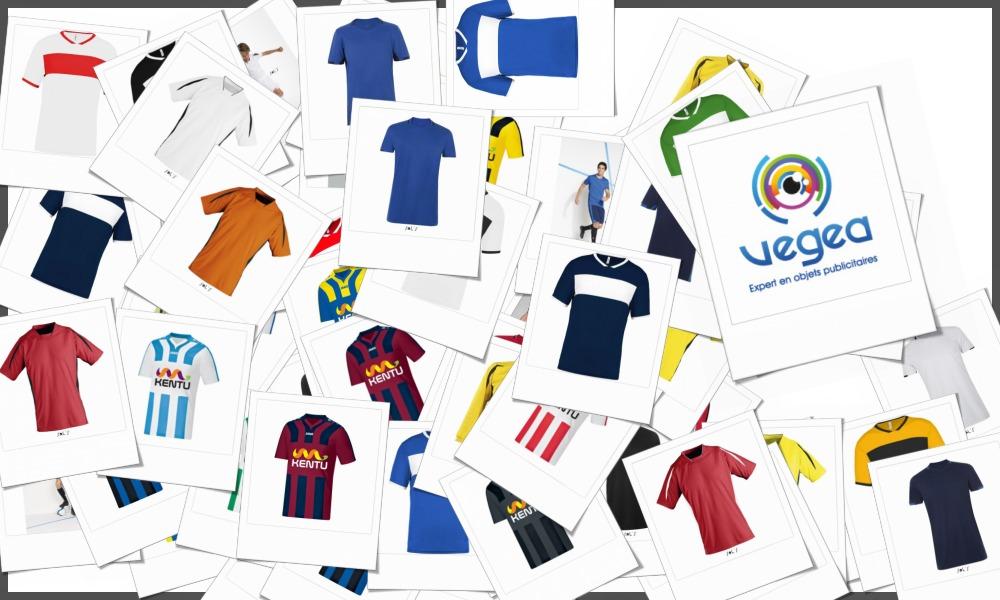 Maillots de football personnalisables à votre effigie avec un logo, un texte ou une image | Grossiste et fabrication d'objets publicitaires et cadeaux d'entreprise