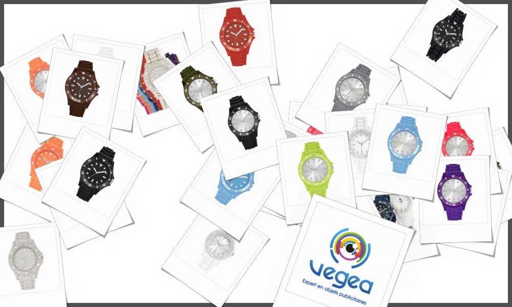 Montres ICE personnalisables à votre effigie avec un logo, un texte ou une image | Grossiste et fabrication d'objets publicitaires et cadeaux d'entreprise