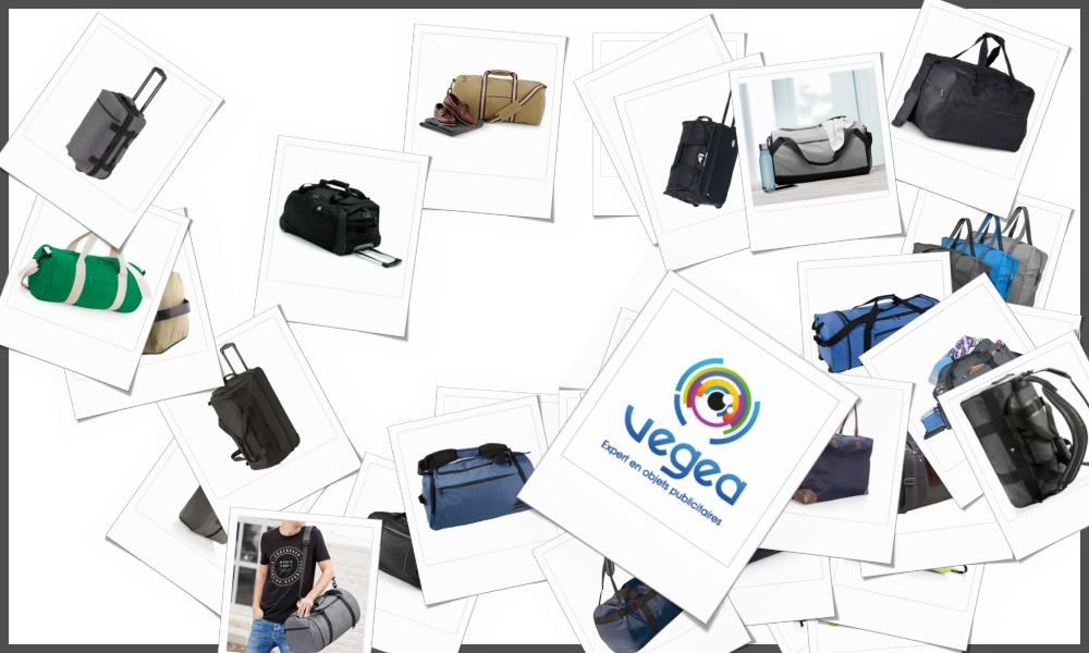 Sacs de voyage  personnalisables à votre effigie avec un logo, un texte ou une image | Grossiste et fabrication d'objets publicitaires et cadeaux d'entreprise