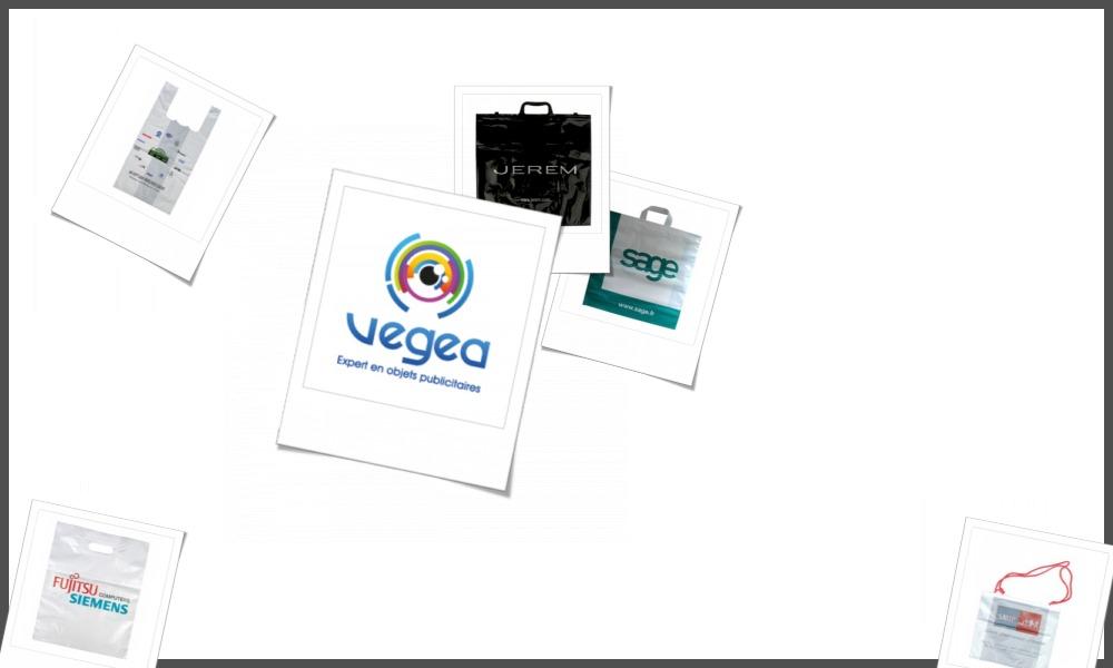 Sacs en plastique biodégradable personnalisables à votre effigie avec un logo, un texte ou une image | Grossiste et fabrication d'objets publicitaires et cadeaux d'entreprise