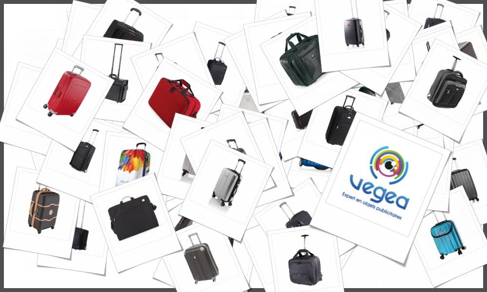 Valises cabine personnalisables à votre effigie avec un logo, un texte ou une image | Grossiste et fabrication d'objets publicitaires et cadeaux d'entreprise