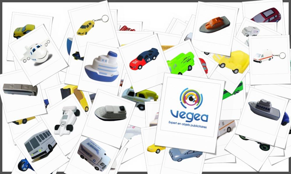 Véhicules et voitures anti-stress personnalisables à votre effigie avec un logo, un texte ou une image | Grossiste et fabrication d'objets publicitaires et cadeaux d'entreprise