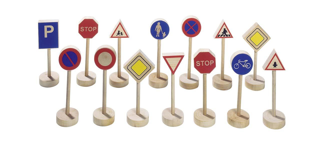 Panneau de signalisation jouet personnalis avec logo grossiste jeux et jouets - Panneau de signalisation personnalise ...