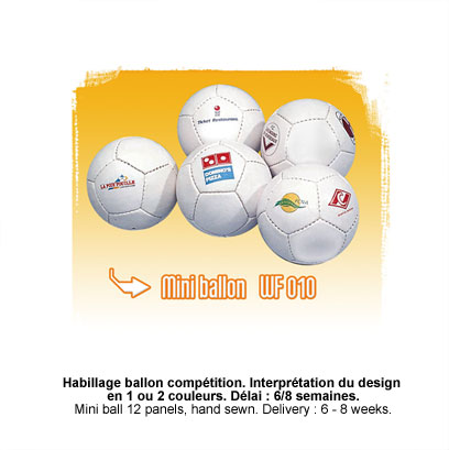 Mini ballons promotionnel
