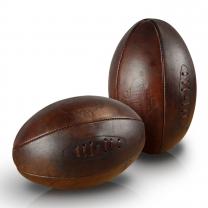 Ballons de rugby publicitaire