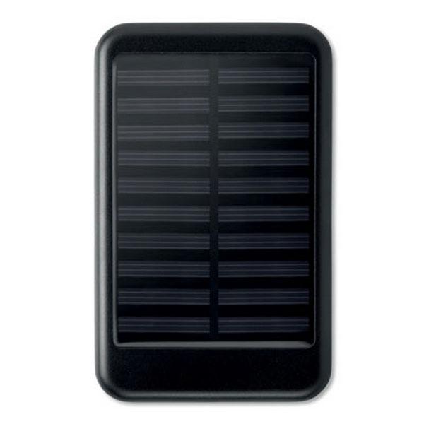 batterie de secours avec personnalisation solaire 4000mah 00010v0105647 partir de 17 94 euros ht. Black Bedroom Furniture Sets. Home Design Ideas