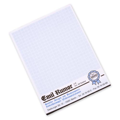 Bloc-notes en papier recyclé customisé