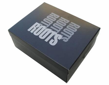Boîtes à chaussures publicitaire