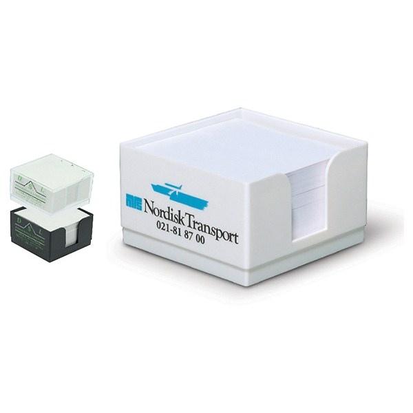 Bloc-notes cubes avec marquage
