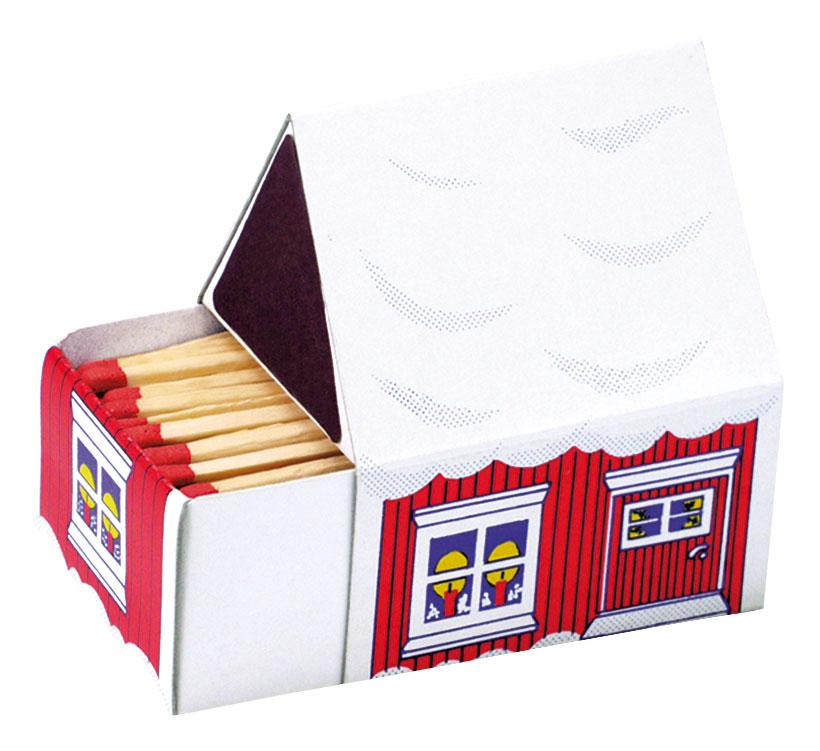 Boite d 39 allumettes publicitaire petite maison - Petite boite allumette a personnaliser ...