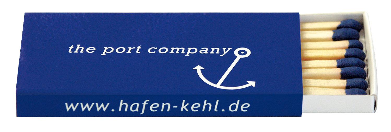 Boîtes d'allumettes avec logo