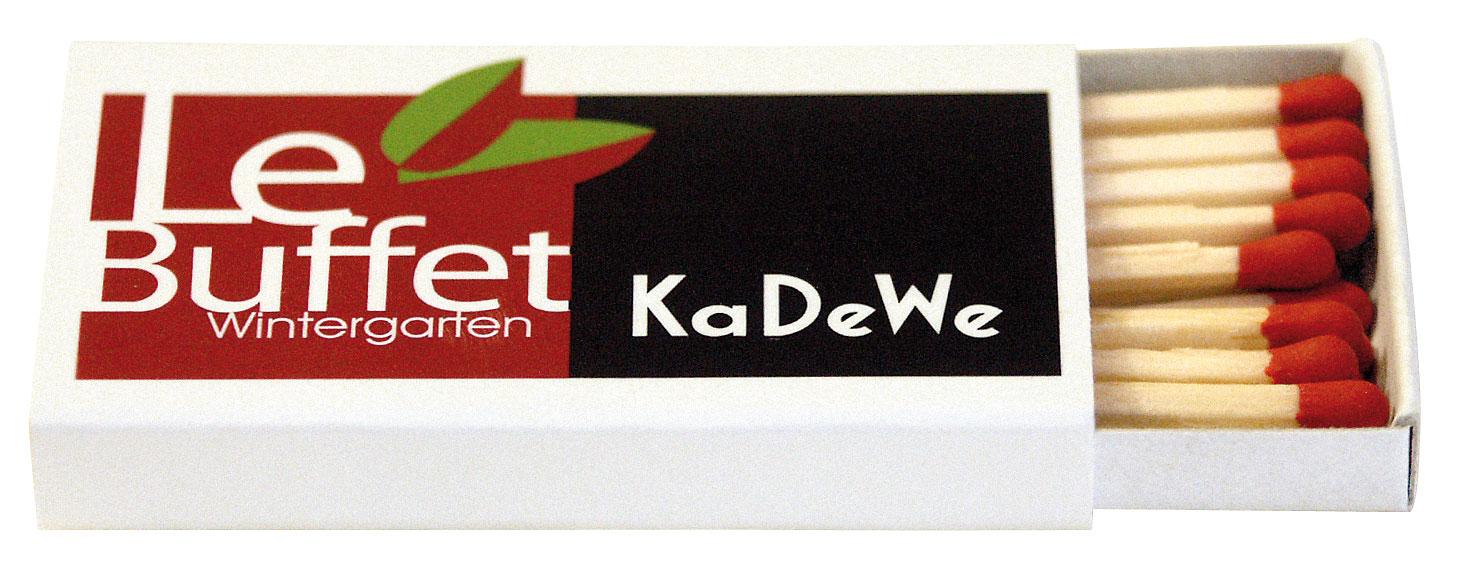 Boîtes d'allumettes customisée