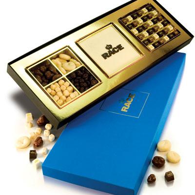 Ballotins et boîtes de chocolats personnalisé