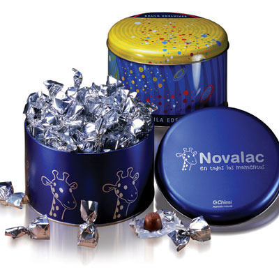 Ballotins et boîtes de chocolats personnalisable