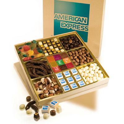 Ballotins et boîtes de chocolats avec marquage