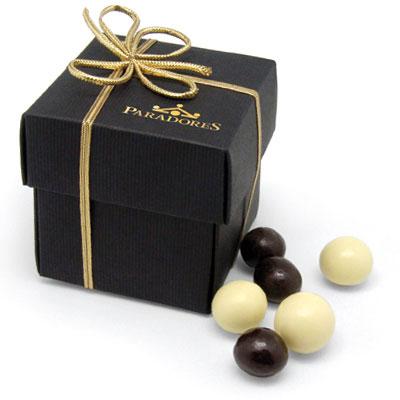 Ballotins et boîtes de chocolats customisé