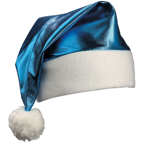 Bonnet de p re no l brillant personnalisable - Pere noel de dos ...