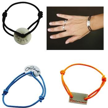 Bracelets fantaisie avec marquage