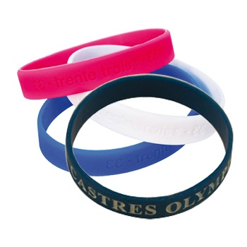 Bracelets sur-mesure promotionnel