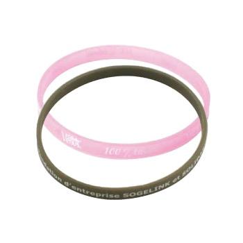 Bracelets en silicone customisé