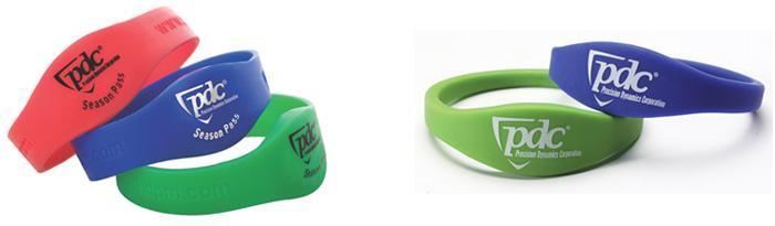 Bracelets RFID publicitaire