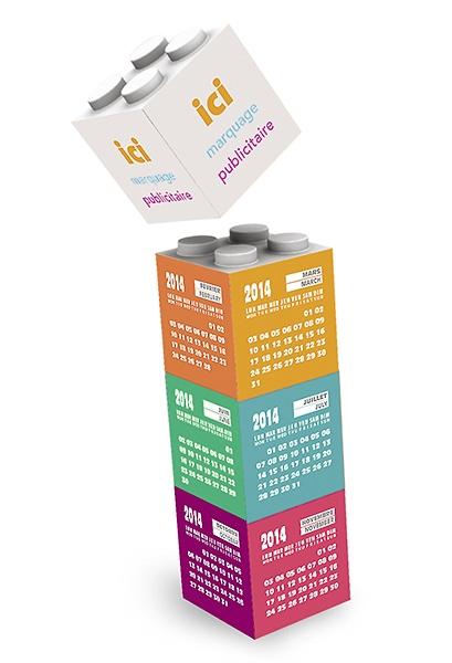 Calendrier 3d building blocks personnalisable 00061v0069211 partir de 11 39 euros ht - Poids d un metre cube de sable ...