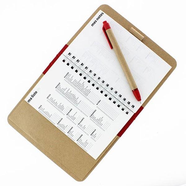 carnet de courses ou bloc notes pour liste des courses personnalis avec logo grossiste objets. Black Bedroom Furniture Sets. Home Design Ideas
