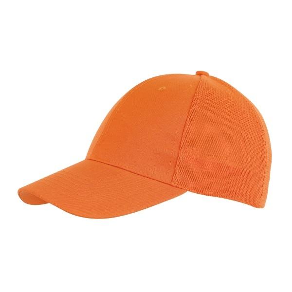 Casquette 6 panneaux à filet | casquette publicitaire | 701700 | objet publicitaire