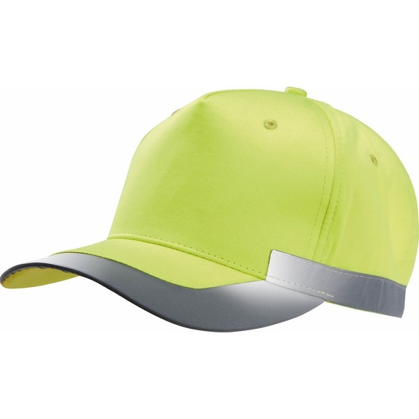 Casquette Fluorescente - 5 Panneaux  K-up | casquette de travail publicitaire | KP123 | objet publicitaire