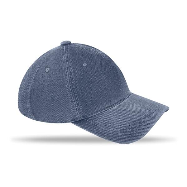 Casquettes 6 pans en coton délavé   casquette publicitaire   MO8833   objet publicitaire