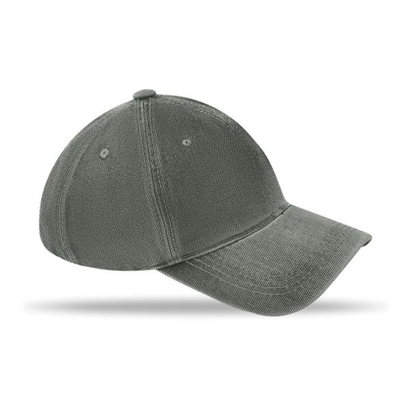 Casquettes 6 pans en coton délavé | casquette publicitaire | MO8833 | objet publicitaire