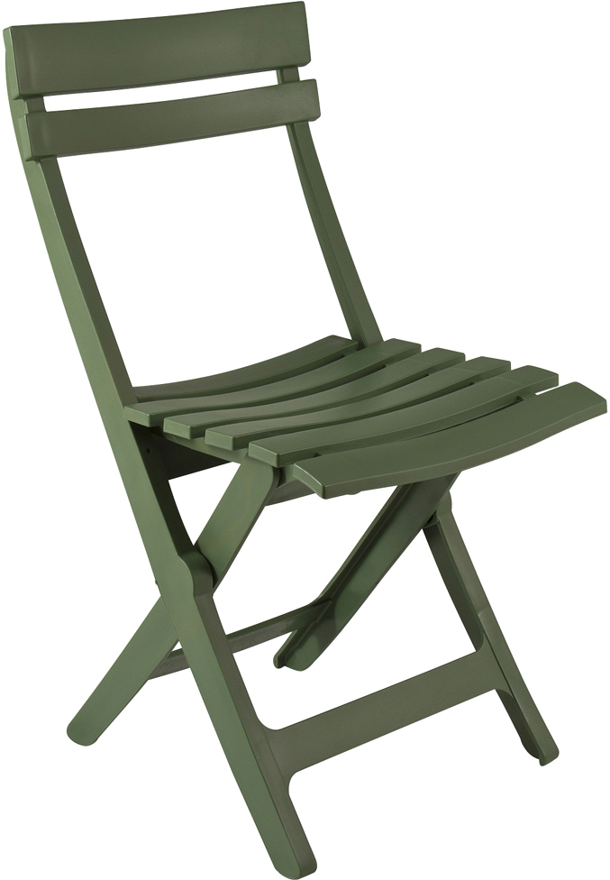 Chaise de jardin pliante miami vert jungle personnalisable for Chaise de jardin verte