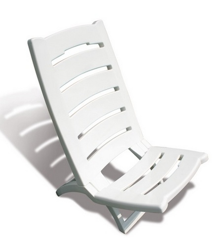 Chaise de plage pliante en plastique table de lit for Relax plage pliante