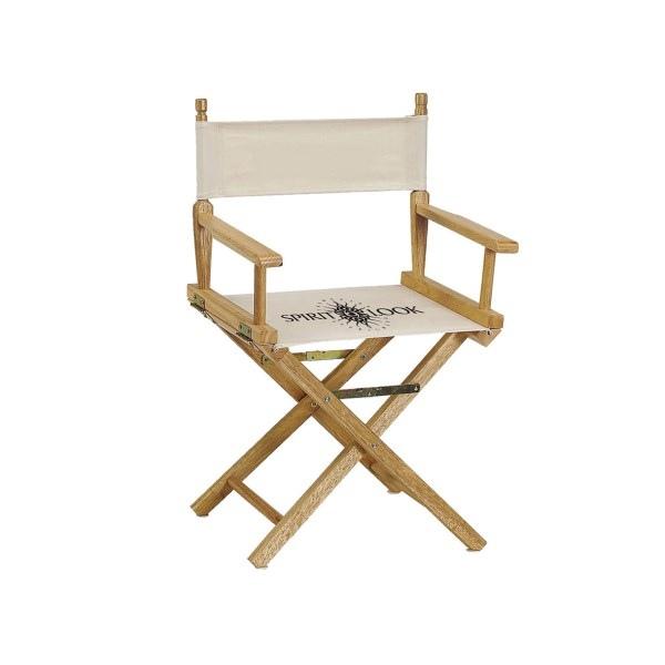 chaise metteur en sc ne s rigraphie personnalisable. Black Bedroom Furniture Sets. Home Design Ideas