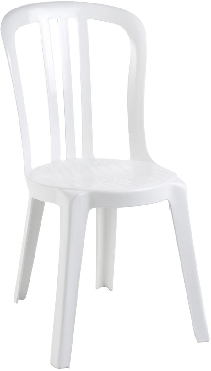 Chaise de jardin grosfillex personnalis e objet for Chaise de bistrot blanche