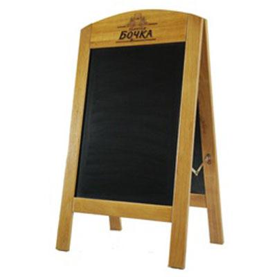 Chevalet ardoise personnalis avec logo grossiste for Tableau ardoise restaurant