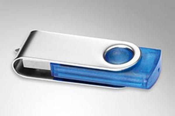 Clés usb avec bouchon rotatif et clés Twister personnalisée