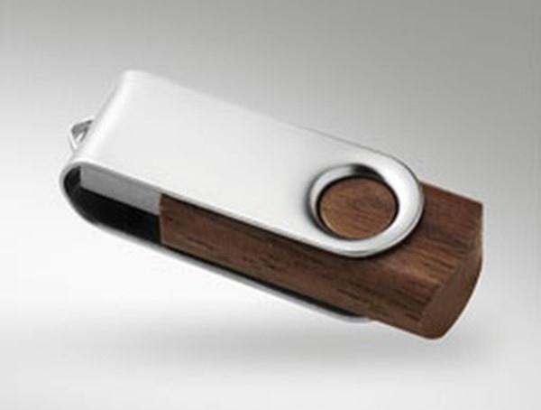 Clés usb en bois avec logo