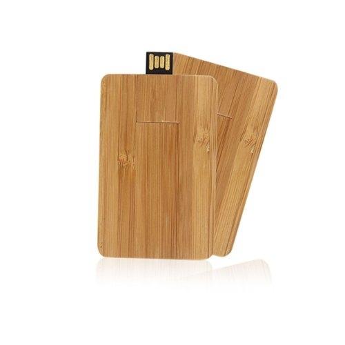 Clés usb en bois publicitaire