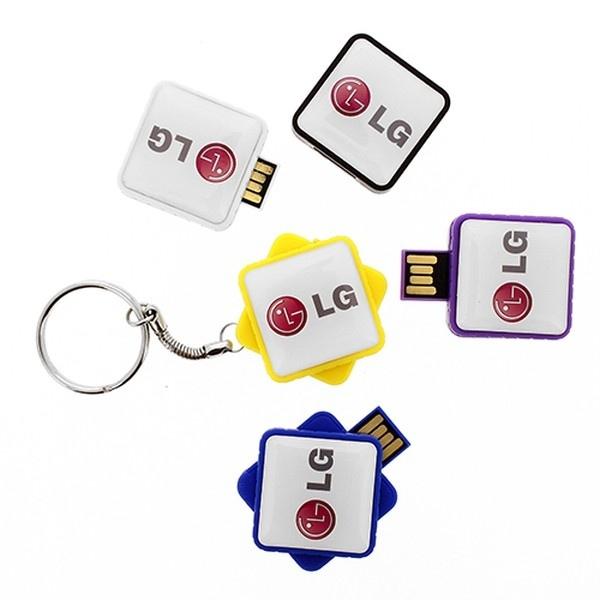 Clés USB rétractables promotionnelle