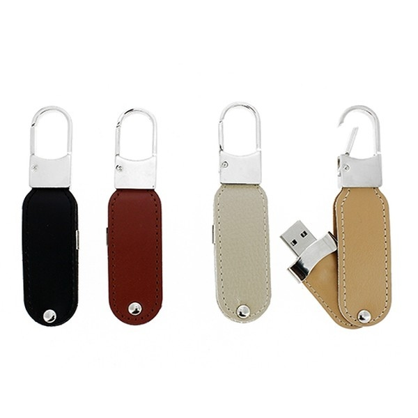 Porte-clés USB avec logo