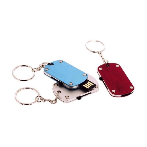 Clés USB rétractables avec marquage