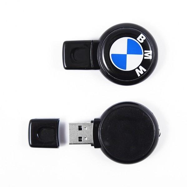 Clés USB rondes avec marquage