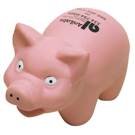 Cochons avec logo