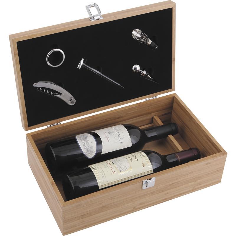 Caisses à vin en bois vides personnalisée