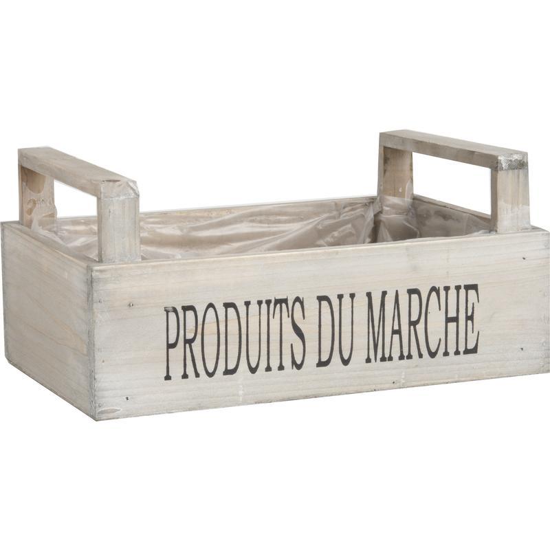 Caisses en bois avec marquage
